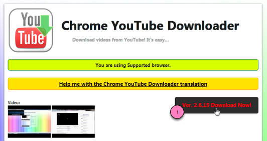 YouTube Downloader for Chrome - Faith Academy Information Technology
