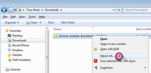 YouTube Downloader for Chrome - Faith Academy Information